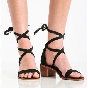 Steve Madden | Rizzaa Block Heel Wrap Up Heels